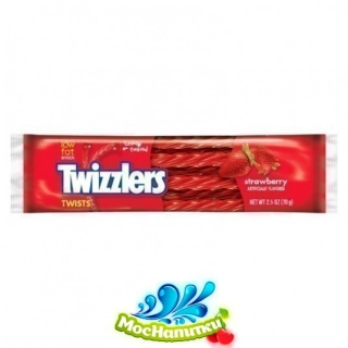 Мармелад Twizzlers Strawberry 70 гр, 18 шт/уп