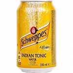 Schweppes Indian Tonic 330мл ж/б
