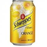 Schweppes Orange 330мл ж/б