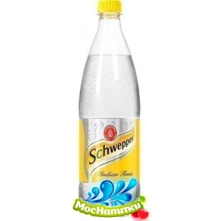 Schweppes Indian Tonic 1 л ПЭТ