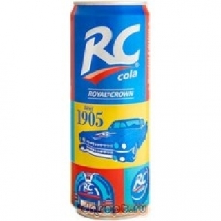 RC Cola 330мл. ж/б