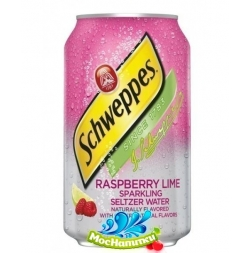 Schweppes Raspberry Lime (Швепс Малина и Лайм) 0.355 ж