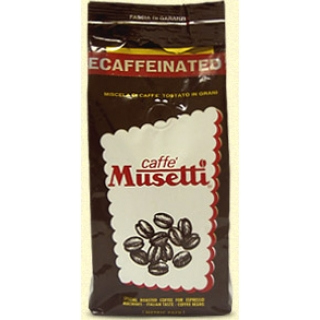 Кофе Musetti Decaffeinated 250гр