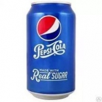 Pepsi Real Sugar (Пепси Реал Шуга) 0.355 ж