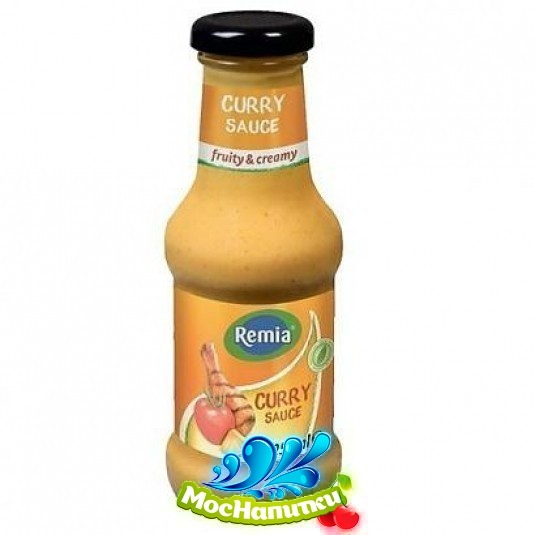 Р4  Соус Remia CURRY карри 250мл