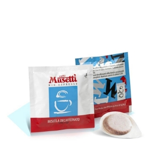 Кофе Musetti Decaffeinated в чалдах 6,94 гр, 150 шт/уп